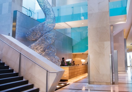 Sydney Hilton Lobby